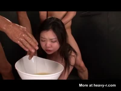 Girl Vomits On Cock