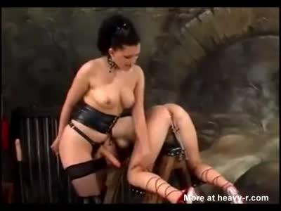 Lesbian pussy torture, ass sex hot sister