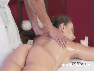 Massage milf fucks after consider, that